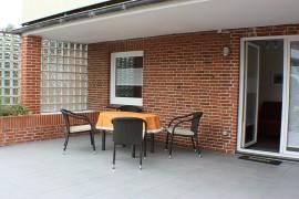 Terrasse Erdgeschoss im Dat Fischerhus