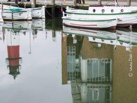 Börteboote im Museumshafen